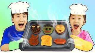 토이쿠키로 브레드이발소 슈퍼히어로 쿠키 만들어요!! 브…