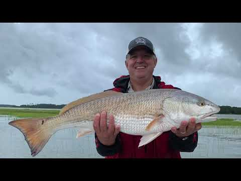 Fishing On The GA Coast For Trout And Redfish