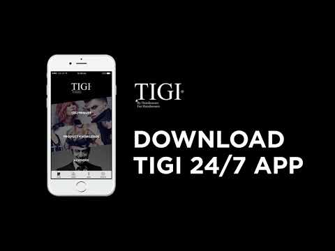 TIGI  phone app