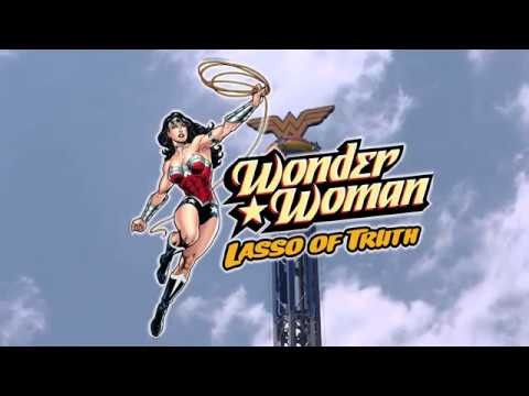 """Wonder Woman """"Lasso of Truth"""" at Six Flags America"""