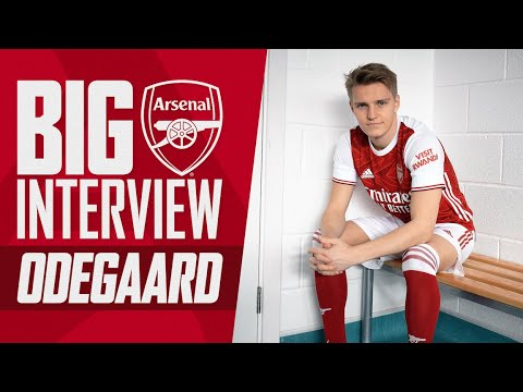 Martin Odegaard on life in London, Ronaldo, Real Madrid & more | The Big Interview