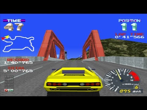 PSX Longplay #60: Ridge Racer Revolution