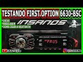 Testando o MP3 PLAYER FIRST OPTION 6630 BSC - Regulagem e como conectar o bluetooth Top!