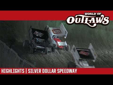 World of Outlaws Craftsman Sprint Cars Silver Dollar Speedway September 8, 2017 | HIGHLIGHTS