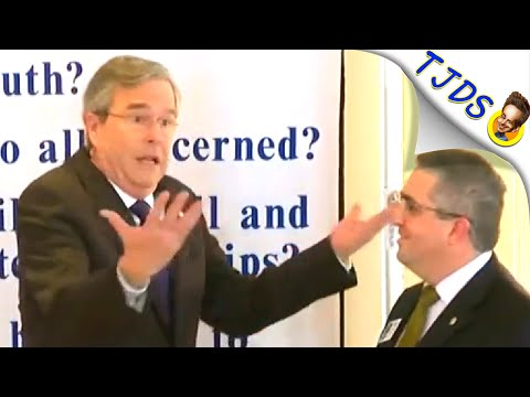 Jeb Bush Kicked Off Stage In Saddest Moment Ever [Hilarious Video]