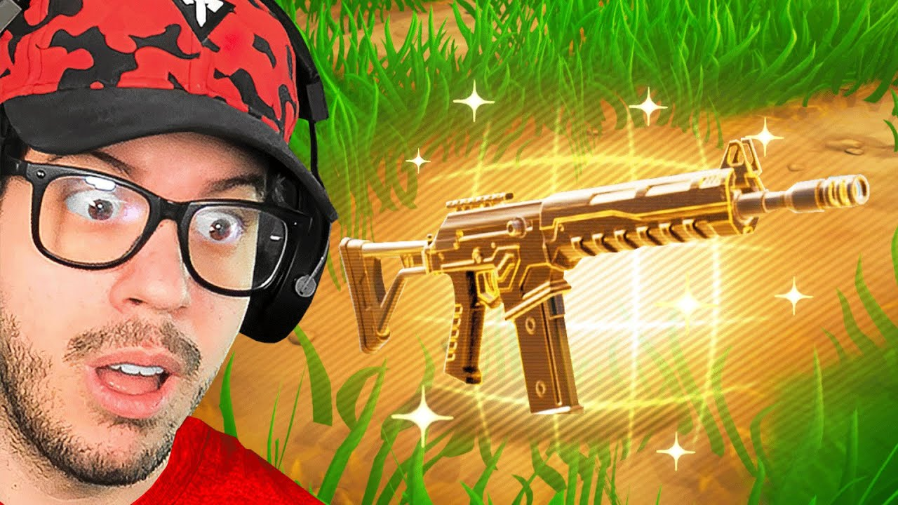 Fortnite, but i can ONLY use the Combat AR... (OVERPOWERED)