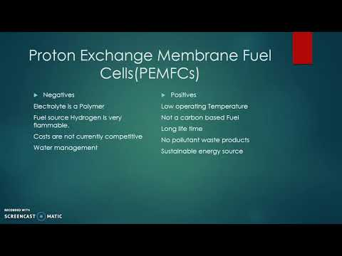 Chemistry without carbon: Hydrogen Fuel Cells