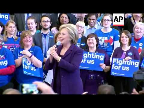 Clinton publicly claims victory in Iowa