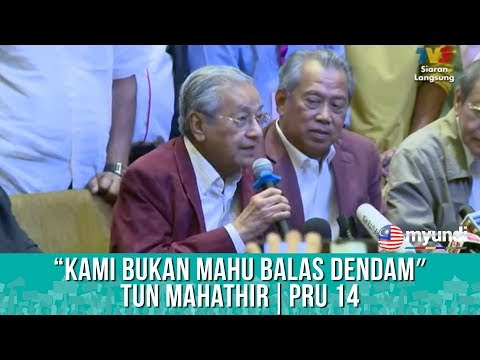 PRU 14   Pengumuman Khas SPR (Part 8) - Pakatan Harapan   9 Mei 2018