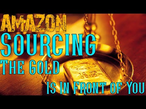 What to Sell on Amazon FBA - The Gold Is Right In Front of You! New Sourcing Approach