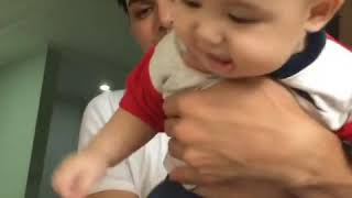 Ahmad affandy and baby xaquil