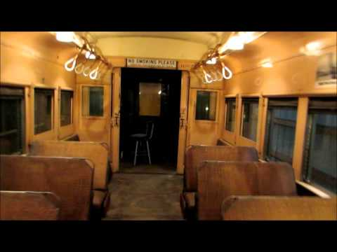 Tour of 1920s Illinois Central Pullman MU Cars