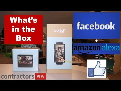 "Facebook Portal & Portal + ""What's In The Box"""