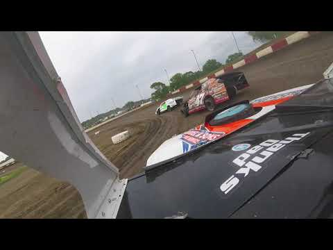 Brody Mosher B-Mod Heat Race Peoria Speedway 6-8-19