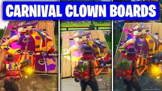 Fortnite 'Get a score of 10 or more on different Carnival Clown Boards' ALL LOCATIONS/GUIDE (Week 9)