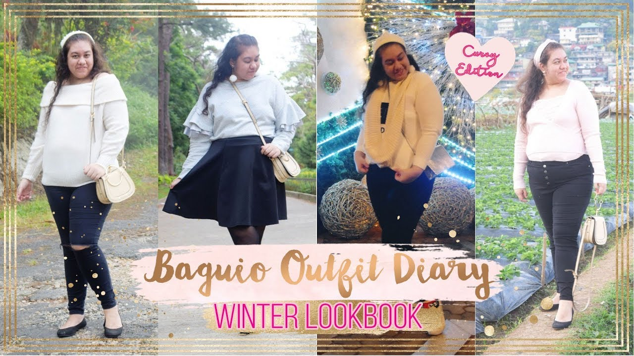 Baguio Outfit Diary // Curvy Winter Lookbook