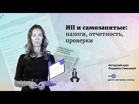 ИП и самозанятые: налоги, отчетность, проверки, Л.Ганичева