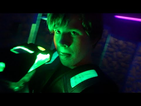 LASER TAG BATTLE!!