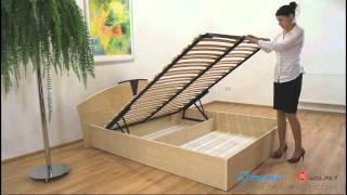 видео Механизмы подъема кровати