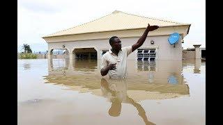 Lokoja floods, inundations Lokoja, River Niger floods in Nigeria, River Benue