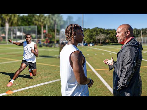 I GOT INVITED TO TRAIN FOR THE NFL COMBINE.. (NFL COACHES GIVE ME ADVICE) - Deestroying