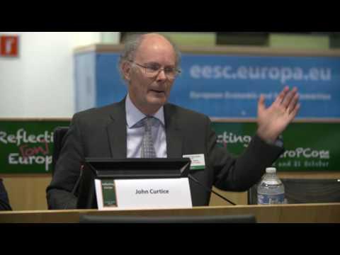 John Curtice - Dynamics of the Eurosceptic narrative - EuropCom 2016