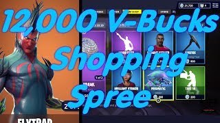Fortnite 12,000 V-Bucks Shopping Spree (RETURN OF THE FLYTRAP)