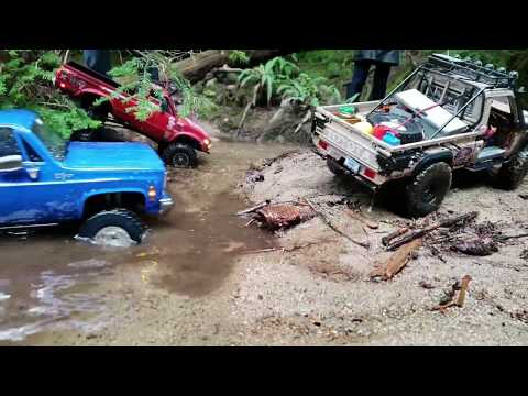 Repeat Trx4 / Scx10ii / Toyzuki v2 Group Rock Climbing by