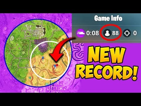 *NEW RECORD* 88 Players in the FINAL CIRCLE! - Fortnite Funny Fails and WTF Moments! #342