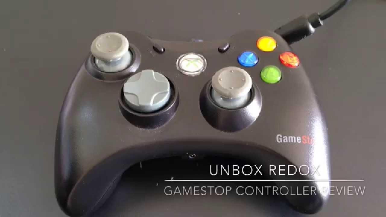 Xbox 360 Wired Controller Pc Gamestop - WIRE Center •