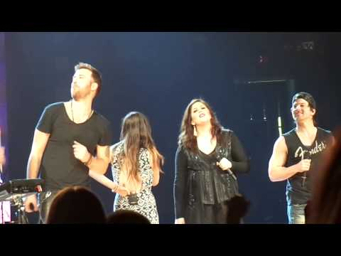 Lady Antebellum, Kip Moore, Kacey Musgraves - I Won't Back Down (Tom Petty cover) (1/31/14)