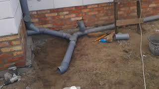 Как сделать канализацию?