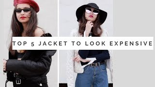TOP 5 MUST HAVE JACKET TO LOOK EXPENSIVE | TEJASWI |Day27