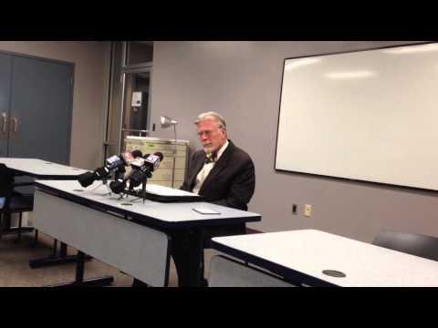 Dauphin County Coroner Graham Hetrick discusses death of Jarrod Tutko Jr.