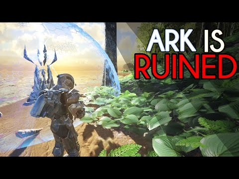 DID THIS RUIN ARK? | Ark Forcefield Strength Test -  MOST OP UPDATE EVER?