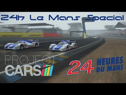 [pCARS] 24h Le Mans Special w/ Marek LMP2 und Silverbullet [G27 PC] [GER]