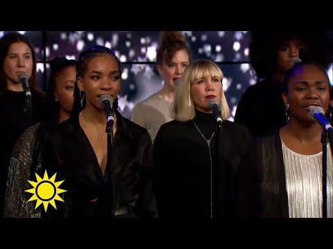 Deliver Daniel - Tensta gospel Choir - Nyhetsmorgon (TV4)