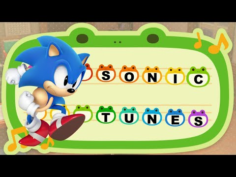 18 Classic Sonic Tunes For Animal Crossing New Horizons Youtube