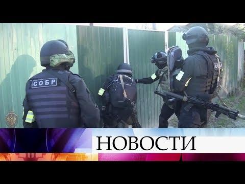 """ФСБ сообщила о ликвидации ячейки запрещенного в России """"Исламского государства""""."""