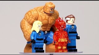 Unboxing Aliexpress Sheng Yuan Fantastic Four Minifigures Set - Not Lego