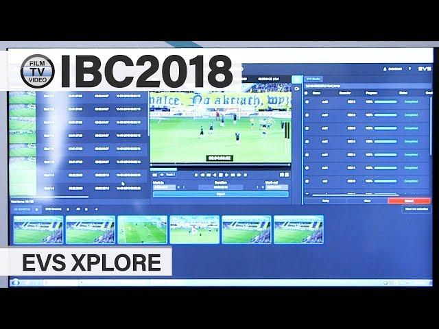 IBC2018: EVS Xplore in Broadcast Solutions-built truck