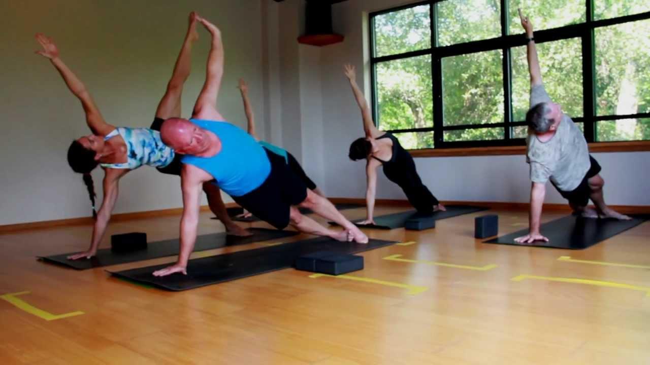 Wilmington Yoga Center: Hot Power Flow Yoga Class - YouTube
