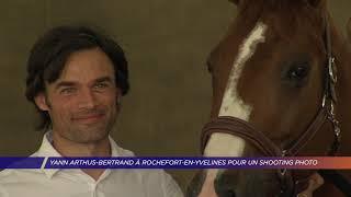 Yvelines | Yann Arthus-Bertrand à Rochefort-en-Yvelines pour un shooting photo