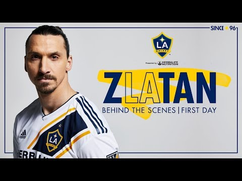 """The Lion is Hungry"" An in depth look at Zlatan's first day with the LA Galaxy"