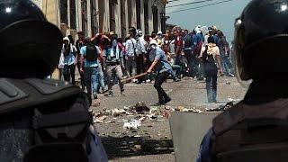 No paran las protestas estudiantiles contra Nicolas Maduro
