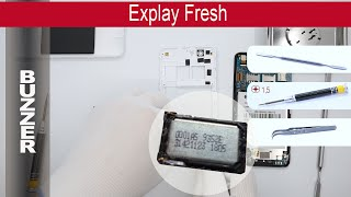 How to replace 🔧 📱 📢 Buzzer (Ringer) Explay Fresh, Tutorial