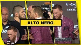 Fans Reaction To Conor McGregor Vs Khabib Nurmagomedov Press Conference UFC 229 | HD