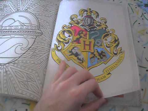 Harry Potter Un Libro da Colorare - YouTube