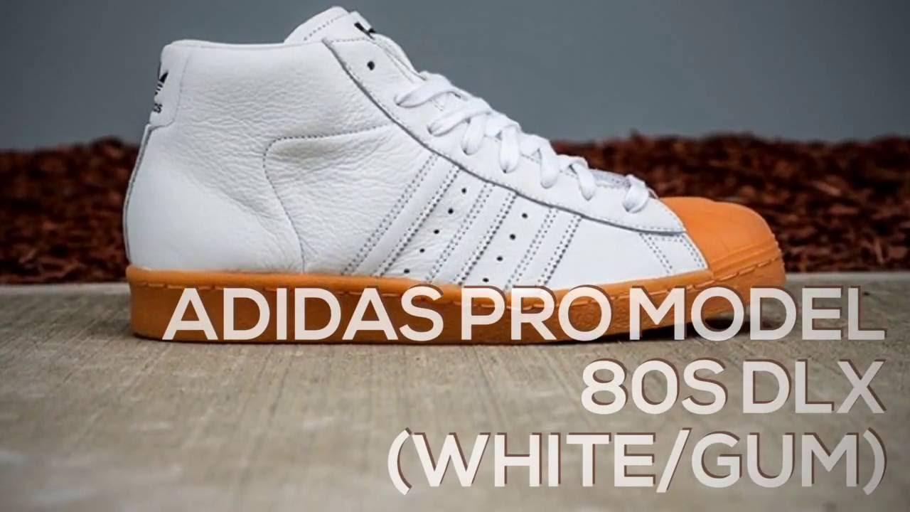ADIDAS PRO MODEL 80S DLX (WHITEGUM) PEACE X9
