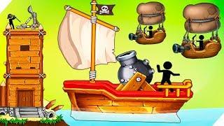 Эволюция катапульты # 2 Катапульта: Атака пиратов The Catapult:Clash With Pirates